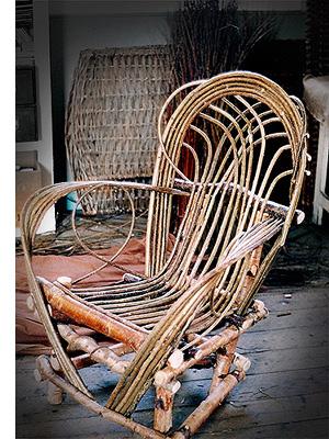 Trevor Leat Wicker Willow Furniture